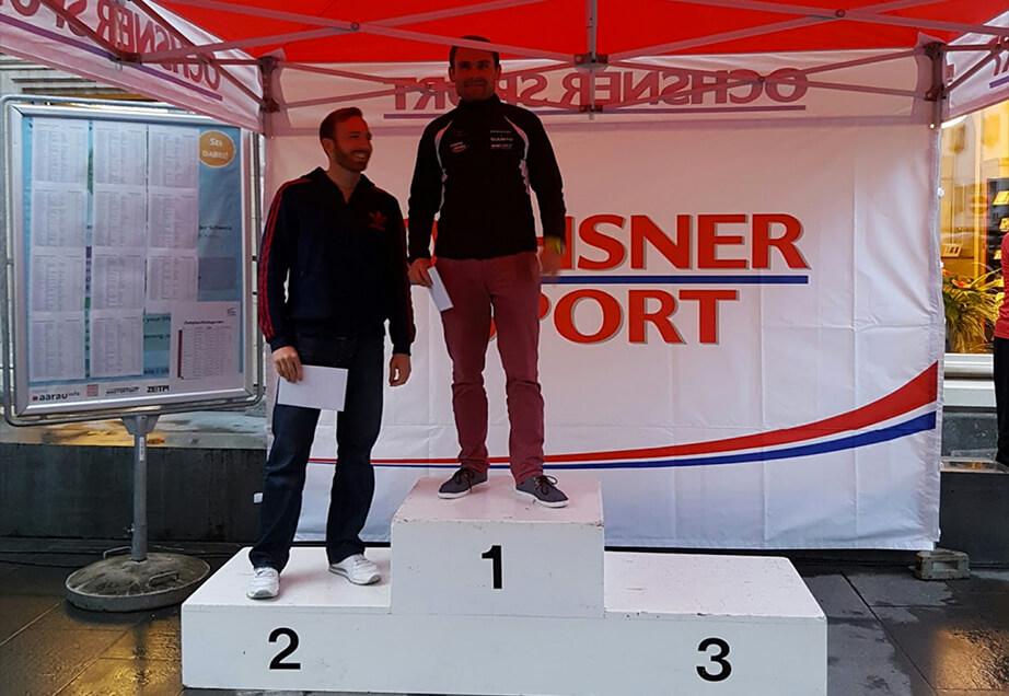 Aarauer Stadtlauf 2016 : 2ter Gesamtrang