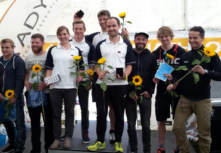 Biennathlon 2016 : 1ster Rang Team of 4