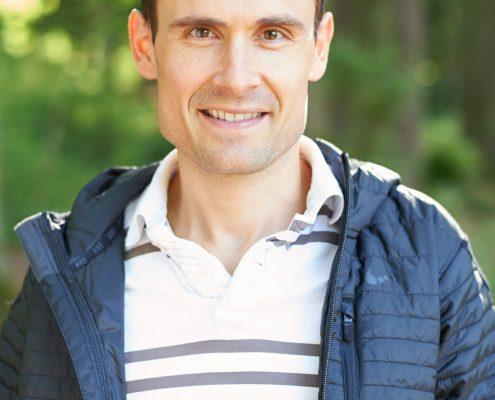 Marathon Läufer Lukas Stähli privat