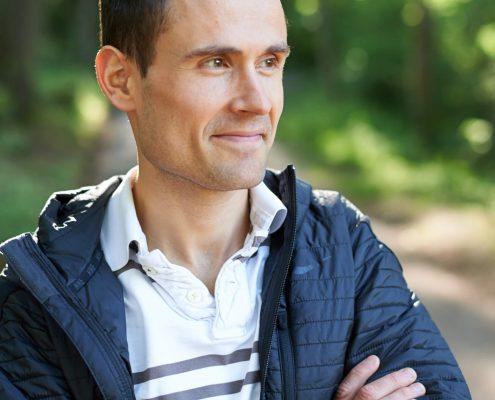 Läufer Lukas Stähli privat
